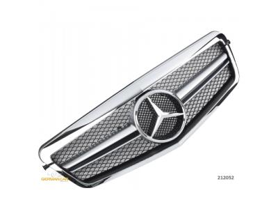 Решётка радиатора AMG Look Chrome на Mercedes E класс W212