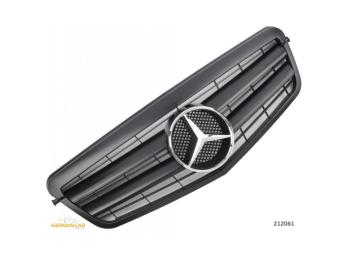 Решётка радиатора Matt Black от Germanparts на Mercedes E класс W212