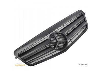 Решётка радиатора Matt Black Var2 от Germanparts на Mercedes E класс W212