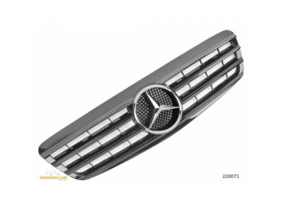 Решётка радиатора от Germanparts Glossy Black на Mercedes S класс W220