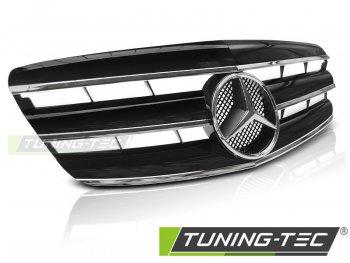 Решётка радиатора CL Look Black Chrome от Tuning-Tec на Mercedes S класс W221