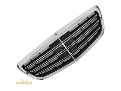 Решётка радиатора S65 AMG Look Black Chrome от GermanParts на Mercedes S класс W222