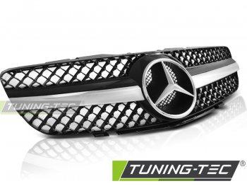 Решётка радиатора CL63 Look Black Chrome от Tuning-Tec на Mercedes SL класс R230