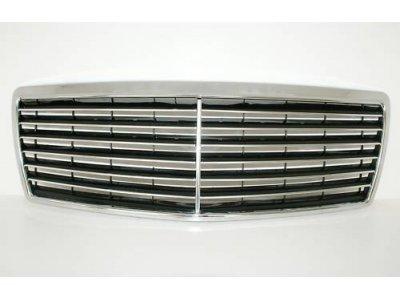 Решётка радиатора Classic Chrome на Mercedes S класс W140