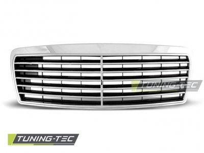Решётка радиатора Avantgarde Chrome на Mercedes E класс W210