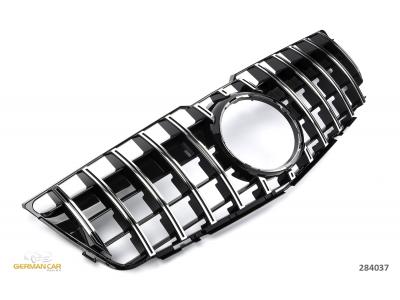 Решётка радиатора AMG GT Look Black Chrome от GermanParts на Mercedes GLK класс X204