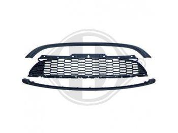 Решётка радиатора Matt Black JCW Look от HD на MINI Cooper рестайл