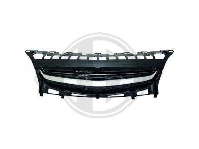 Решётка радиатора OPC Look от HD Black Chrome на Opel Astra J