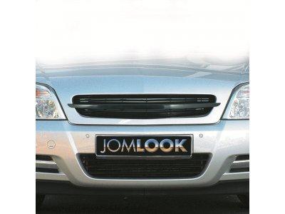 Решётка радиатора от JOM Black Chrome на Opel Vectra C