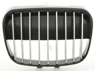 Решётка радиатора от FK Automotive Black Chrome на Seat Arosa рестайл