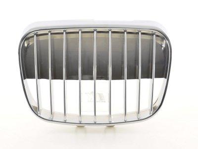 Решётка радиатора от FK Automotive Full Chrome на Seat Arosa рестайл