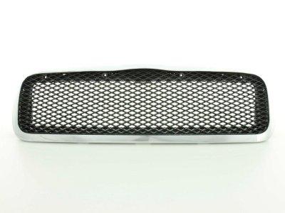Решётка радиатора от FK Automotive Black Chrome на Skoda Octavia I