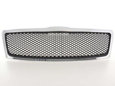 Решётка радиатора от FK Automotive Black Chrome на Skoda Octavia II