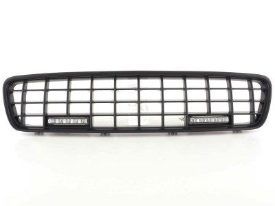Решётка радиатора Black с ДХО от FK Automotive на Volvo S40 рестайл