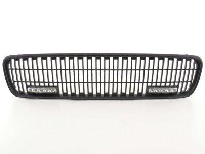 Решётка радиатора Black с DRL от FK Automotive на Volvo V50