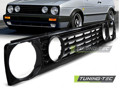 Решётка радиатора GTI Look Black от Tuning-Tec на Volkswagen Golf II