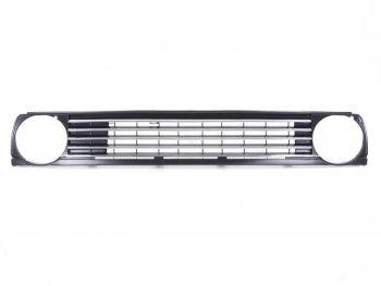 Решётка радиатора Black Chrome от FK Automotive на Volkswagen Golf II