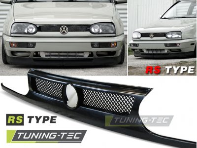 Решётка радиатора RS Type Black от JOM на Volkswagen Golf III