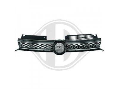 Решётка радиатора GTI Look Black Silver от HD на Volkswagen Golf VI