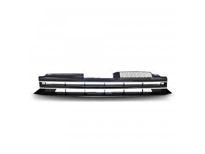 Решётка радиатора Black Chrome от JOM на Volkswagen Golf VI