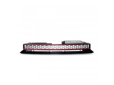 Решётка радиатора Black Red от JOM на Volkswagen Golf VI GTI