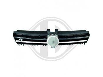 Решётка радиатора от HD R20 Look Black Chrome на VW Golf VII