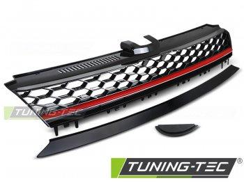 Решётка радиатора от Tuning-Tec R Look Black Red на VW Golf VII