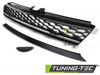 Решётка радиатора от Tuning-Tec R Look Black Chrome на VW Golf VII