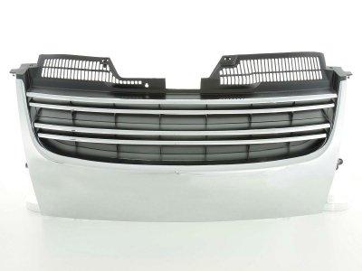 Решётка радиатора Black Chrome от FK Automotive на VW Jetta V