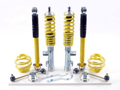 Комплект регулируемой подвески 35-55 мм от FK Automotive AK Street для Audi A3 8L