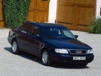 На Audi A6 C4 пружины с занижением, спортивная регулируемая подвеска