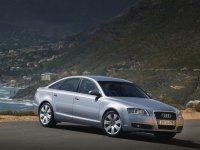 На Audi A6 C6 пружины с занижением, спортивная регулируемая подвеска