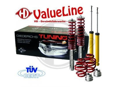 Комплект регулируемой подвески до 50 мм от HD ValueLine для Citroen C3
