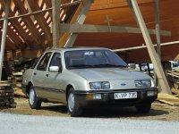 На Ford Sierra пружины с занижением, спортивная регулируемая подвеска