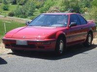 На Honda Prelude III пружины с занижением, спортивная регулируемая подвеска