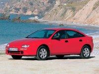 На Mazda 323 пружины с занижением, спортивная регулируемая подвеска