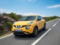 На Nissan Juke пружины с занижением, спортивная регулируемая подвеска