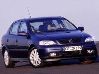 На Opel Astra G пружины с занижением, спортивная регулируемая подвеска