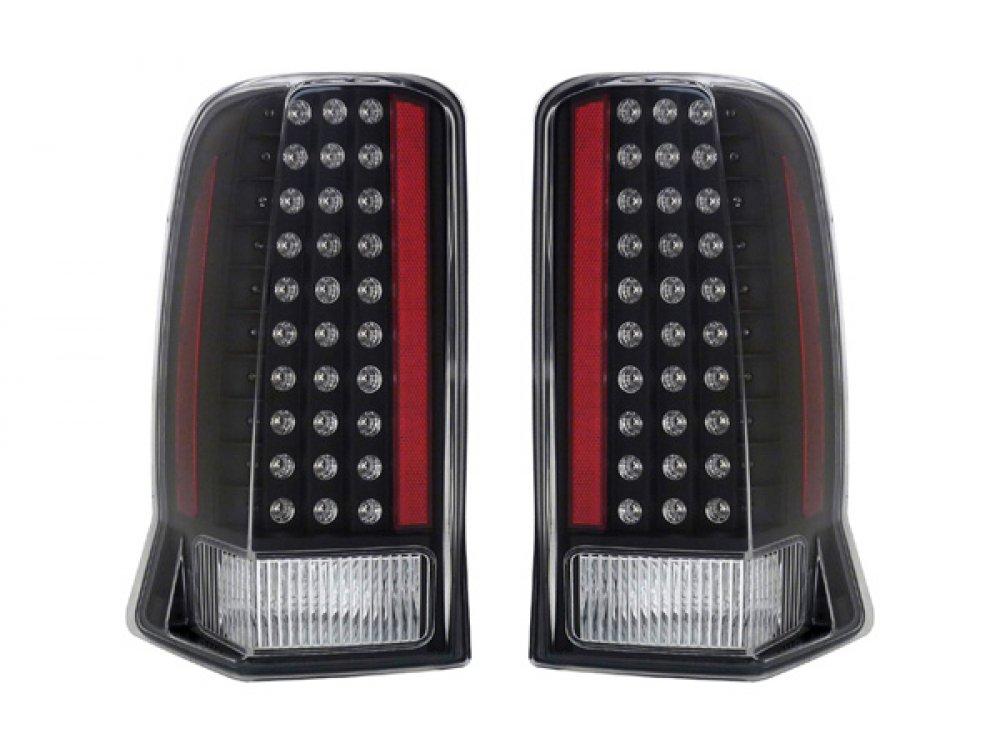 Задние фонари LED Black на Cadillac Escalade II