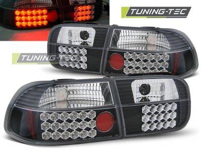 Задние фонари LED Black от Tuning-Tec на Honda Civic V 3D