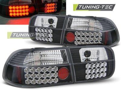 Задние фонари LED Black от Tuning-Tec на Honda Civic V 2D / 4D
