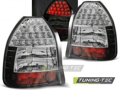 Задние фонари LED Black от Tuning-Tec на Honda Civic VI 3D