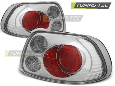 Задние фонари Chrome от Tuning-Tec на Honda CRX Del Sol