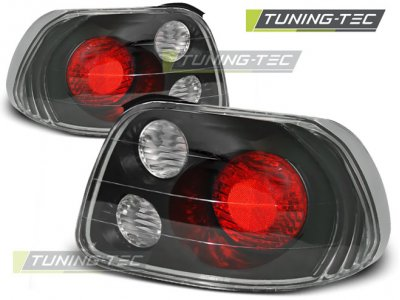 Задние фонари Black от Tuning-Tec на Honda CRX Del Sol