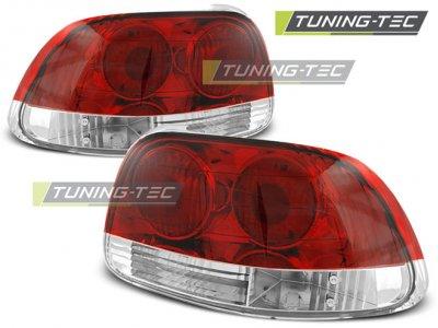 Задние фонари Red Crystal от Tuning-Tec на Honda CRX Del Sol