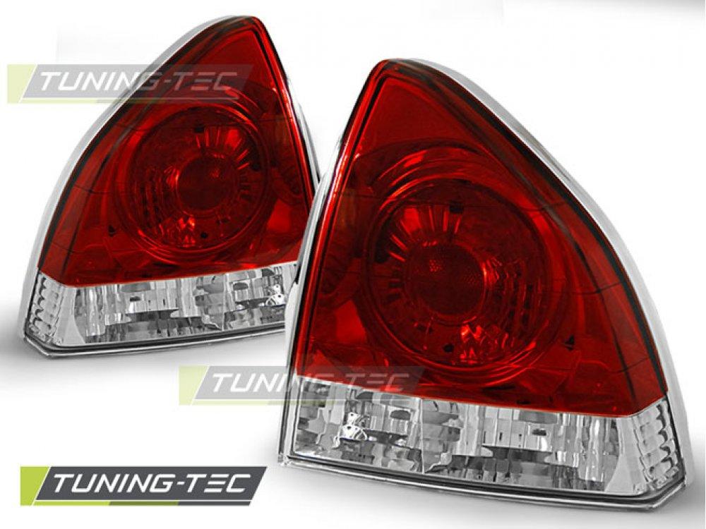 Задние тюнинг фонари Red Crystal от Tuning-Tec на Honda Prelude IV