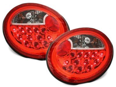 Задние фонари LED Red Crystal на Volkswagen Beetle