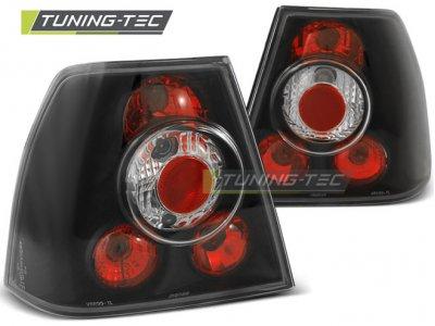 Задние фонари Black от Tuning-Tec на Volkswagen Bora