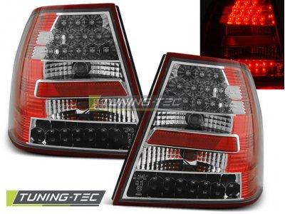 Задние фонари LED Red Crystal от Tuning-Tec на Volkswagen Bora