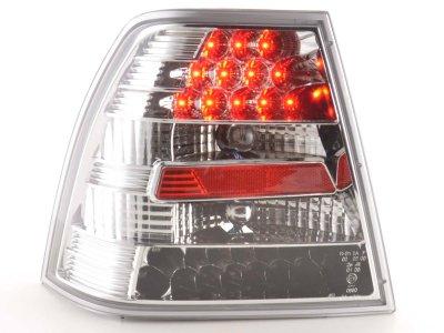 Задние фонари от FK LED Chrome на Volkswagen Bora 4D